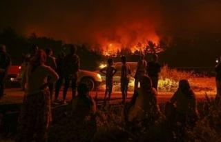İzmir'deki yangın 48 saat sonra kontrol altında......