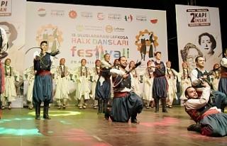 Lefkoşa Halk Dansları Festivali devam ediyor