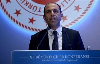 """Özersay Ankara'da açıkladı... """"Kıbrıs'ta..."""