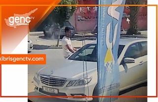 Park halindeyken çalınanArifoğlu'na ait araç...