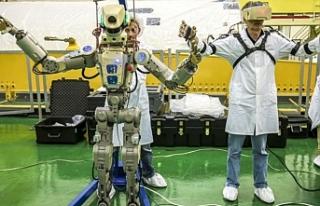 Rusya, Uluslararası Uzay İstasyonuna (UUİ) insansı...
