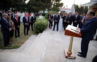 TC Lefkoşa Büyükelçiliği'nde 30 Ağustos...
