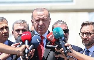 """Türkiye Cumhurbaşkanı Erdoğan:"""" İdlib'le..."""