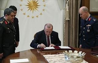 Türkiye'de YAŞ kararları açıklandı