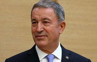Türkiye Milli Savunma Bakanı Akar, KKTC'ye...