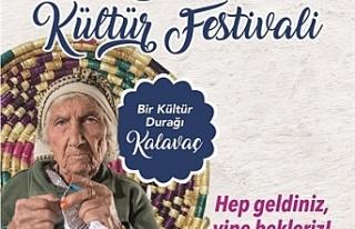 8. Kalavaç Kültür Festivali,l Pazar günü gerçekleştirilecek