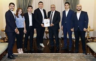 Akıncı, Kıbrıs Türk Gençlik Kongresi organizasyon...