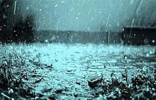 Akıncılar'da, dün, metrekarede 6 Kg yağış...