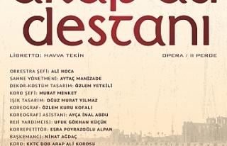 """""""Arap Ali Destanı"""" sahneye taşınıyor"""