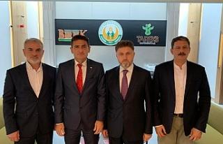 Bakan Oğuz'dan Ankara'da temaslar