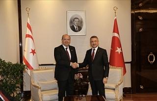 Başbakan Tatar, Ankara'da Oktay ile görüştü