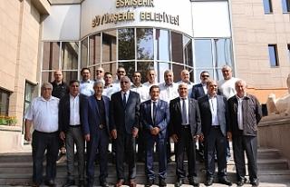 Belediyeler Birliği'nden Ankara ve Eskişehir'de...