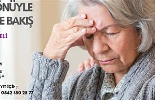 """""""Birçok Yönüyle Alzheimer'a Bakış"""" konulu..."""