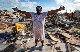 BM Dorian Kasırgası'nın vurduğu Bahamalar'a...