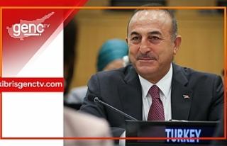 """Çavuşoğlu: """"KKTC'nin teklifine uluslararası..."""