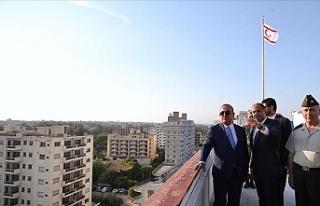 Çavuşoğlu Maraş'ı ziyaret ederek KKTC temaslarını...