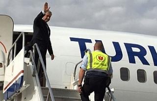 Cumhurbaşkanı Mustafa Akıncı, bugün New York'a...
