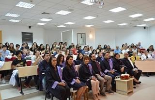 DAÜ Tıp Fakültesinde ilk ders sunumu yapıldı
