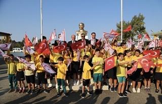 Eğitim yılı açılışında Akdoğan Dr.Fazıl...