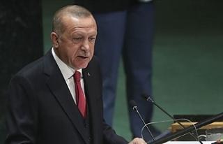 """Erdoğan: """"Çözüm bulunana kadar çaba göstermeye..."""