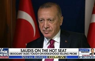 """Erdoğan: """"S-400'lerin ABD ile ilişkilerimizi..."""