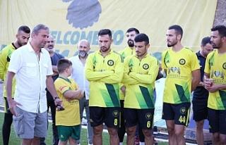 Hamza Hamzaoğlu MTG antremanında