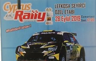 Kıbrıs Rallisi bugün Larnaka'da başlıyor