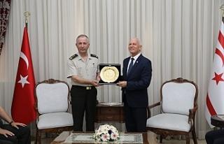 KTBK yeni Komutanı Tümgeneral Öztürk Meclis'te