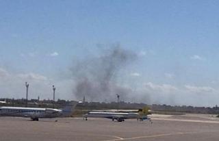 Libya'da Hafter güçleri Mitiga Uluslararası...