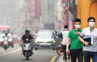 Malezya'daki hava kirliliği, evlere yemek siparişini...