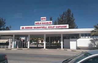 Nalbantoğlu Devlet Hastanesi su depolarının genel...