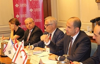 Özersay, New York'ta Turkish Heritage Organization'da...