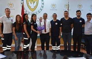 Pilli, Kıbrıs Türk Paramedikler Derneği'ni...