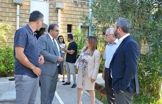 Sucuoğlu SOS Çocuk Köyü'nü ziyaret etti