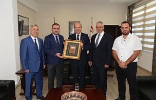 Tatar, Eko-Avrasya Derneği'ni kabul etti
