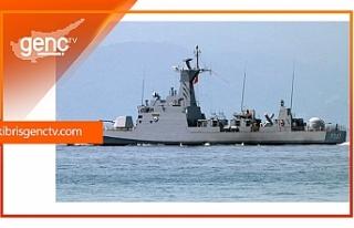 TCG Zıpkın Hücumbotu Girne Limanı'na geldi