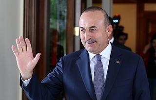 Türkiye Dışişleri Bakanı Çavuşoğlu KKTC'ye...