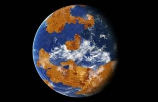 Venüs'te 2-3 milyar yıl yaşam koşulları...