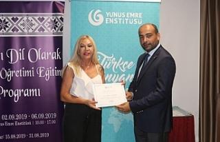 """""""Yabancı Dil Olarak Türkçe Öğretimi Eğitim..."""