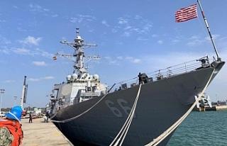 ABD ve Rus donanma gemileri Güney Kıbrıs'ta