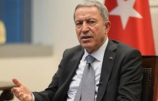 """Akar: """"PKK/YPG'nin harekat bölgesinde kaldığı..."""