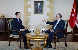 """Akıncı: """"Bu makama kimin geleceğine Kıbrıs..."""