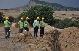 Altınova ile Ağıllar Köyü'ne, su doğrudan...