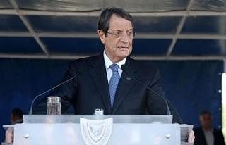 Anastasiades'ten Genel Sekreterin çabalarına...