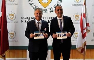 Bakan Pilli'den maratona destek