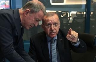 """""""Barış Pınarı Harekatı Koordinasyon Toplantısı""""..."""