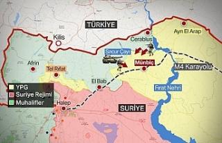 Barış Pınarı Harekatı'nda 7.Gün! Gözler Münbiç'e...