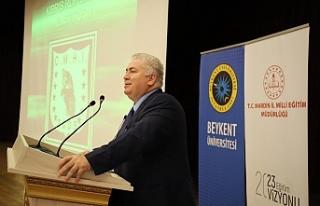 Çakıcı, Mardin'de konferans verdi
