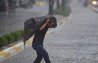 Çok kuvvetli sağanak yağış uyarısı