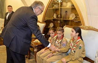 Cumhurbaşkanı,Vadili İlkokulu Mesarya İzcilik...